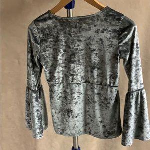 Arizona Jean Company Shirts & Tops - Arizona girls' velvet top